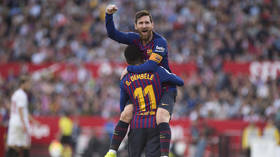 Lionel Messi's 50th hat-trick inspires Barcelona to comeback win against Sevilla