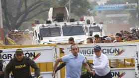 Horrifying VIDEOS show RAMMING at Simon Bolivar bridge in Venezuela