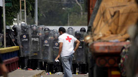 Red Cross denounces unsanctioned use of its emblems to smuggle US aid to Venezuela