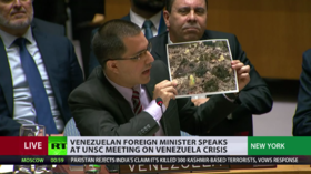 'Aid trucks' carry nails & wire for barricades, Venezuelan FM says, showing photos