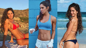 'I'll fight anyone. I want to KO girls!': 'World's sexiest fighter' eyes boxing world title (PHOTOS)