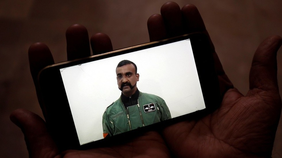 Epic mustache: Internet fawns over facial hair of Indian pilot freed by Pakistan