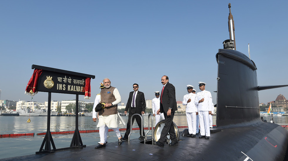 Pakistan's Navy claims it prevented Indian submarine from entering its waters