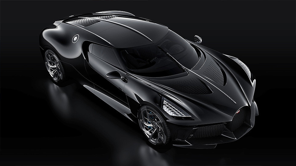 To the Batmobile! Bugatti's new $19mn 'hypercar' sets new price record (PHOTOS)