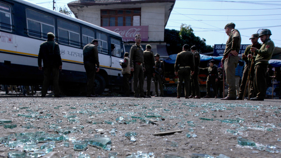Grenade injures 26 in India's part of Kashmir amid spike in tensions with Pakistan