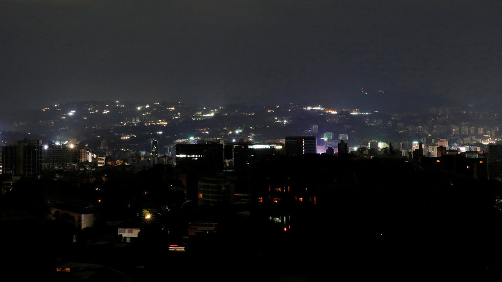 Venezuela blames sabotage & 'US electricity war' after major power outage