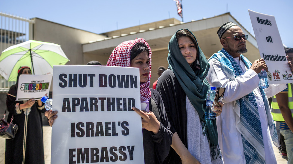 South Africa to downgrade status of its embassy in Israel once 'modalities' are finalized