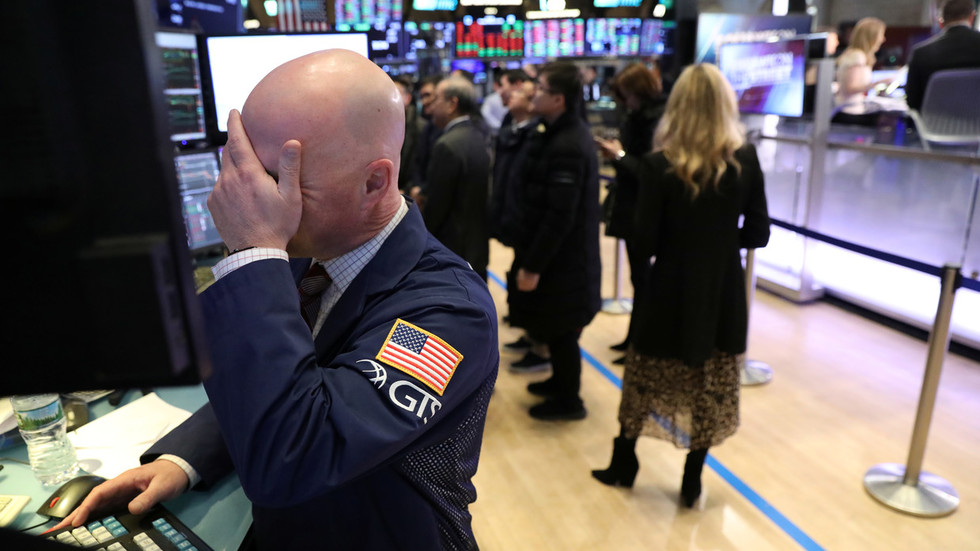 Oldest US stock index notches longest losing streak in nearly half a century