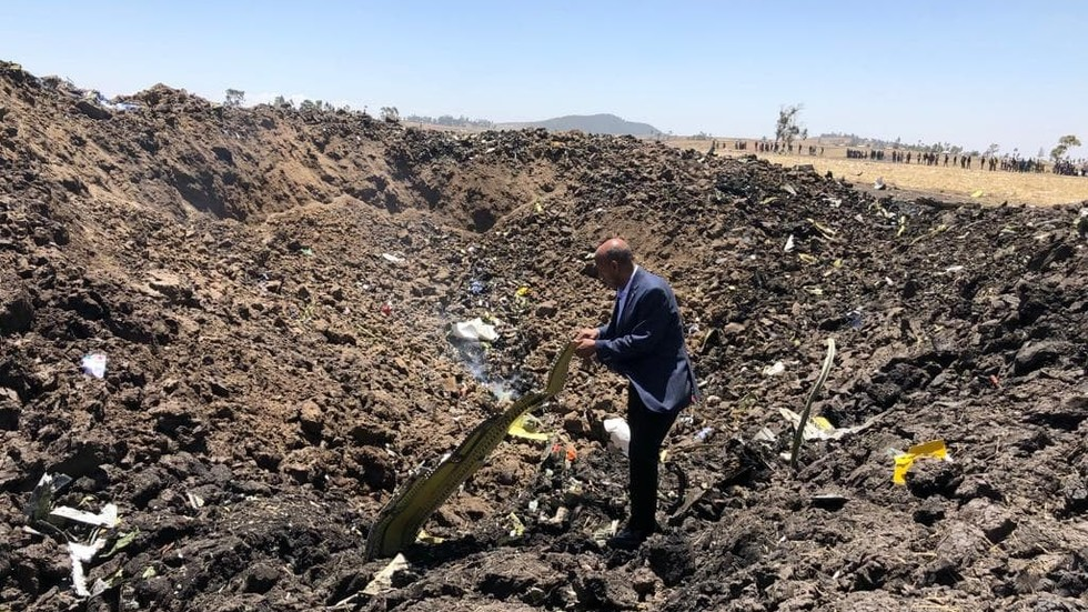 First PHOTO and VIDEO from site of Ethiopian Airlines Boeing 737 MAX deadly crash emerge online