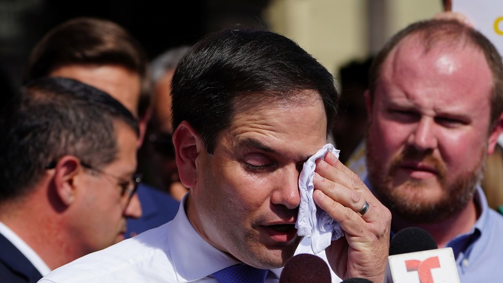 Marco Rubio blames Venezuelan power outages on explosion at imaginary 'German Dam'