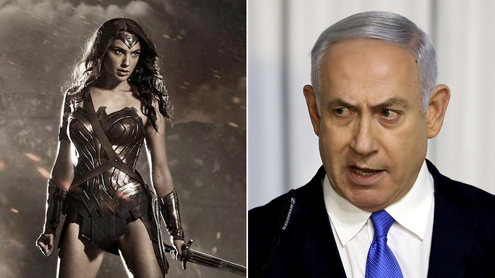 Wonder Woman v Bibi? Gal Gadot comes to rescue of TV host berated by Israeli PM