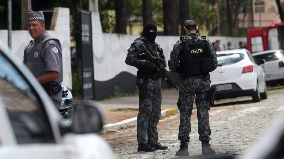 'Revolver, crossbow, Molotovs': At least 10 dead in school shooting in Brazil's Sao Paulo