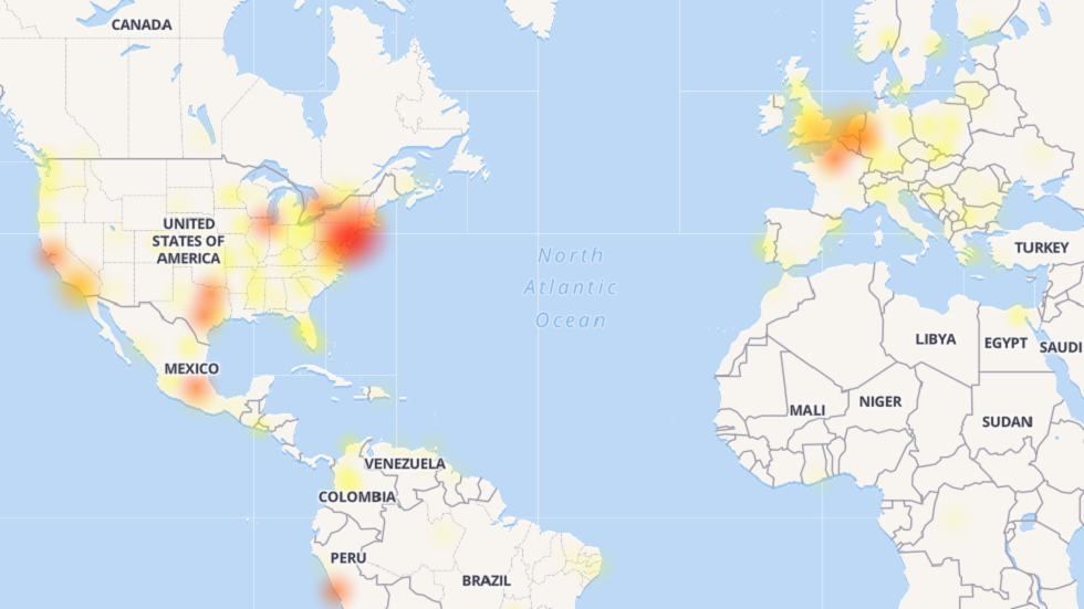 Facebook & Instagram experience massive outage across US & Europe