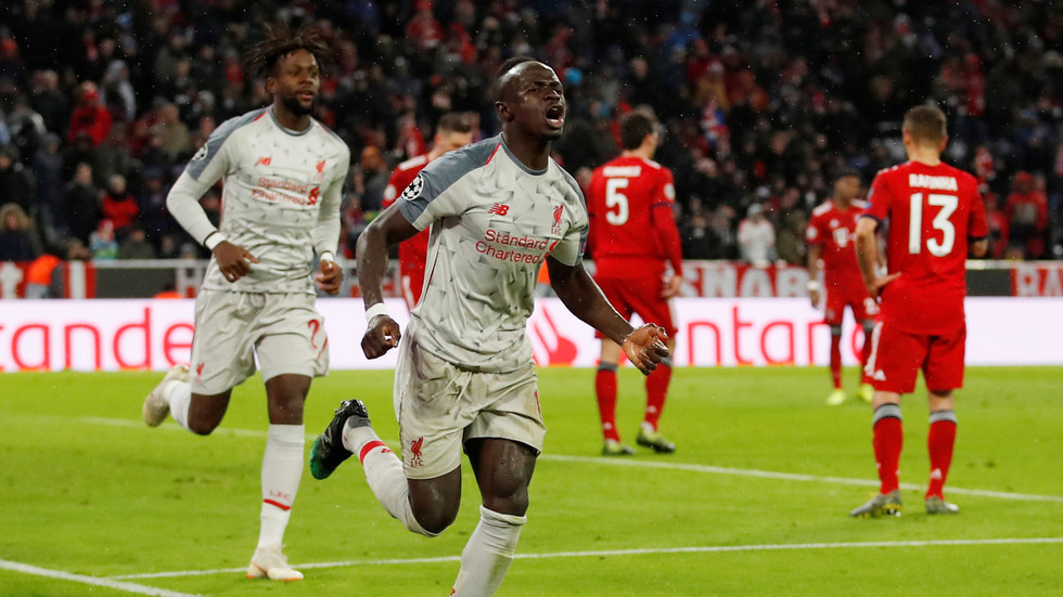 who s the mane sadio fires double as liverpool see off bayern munich in champions league rt. Black Bedroom Furniture Sets. Home Design Ideas