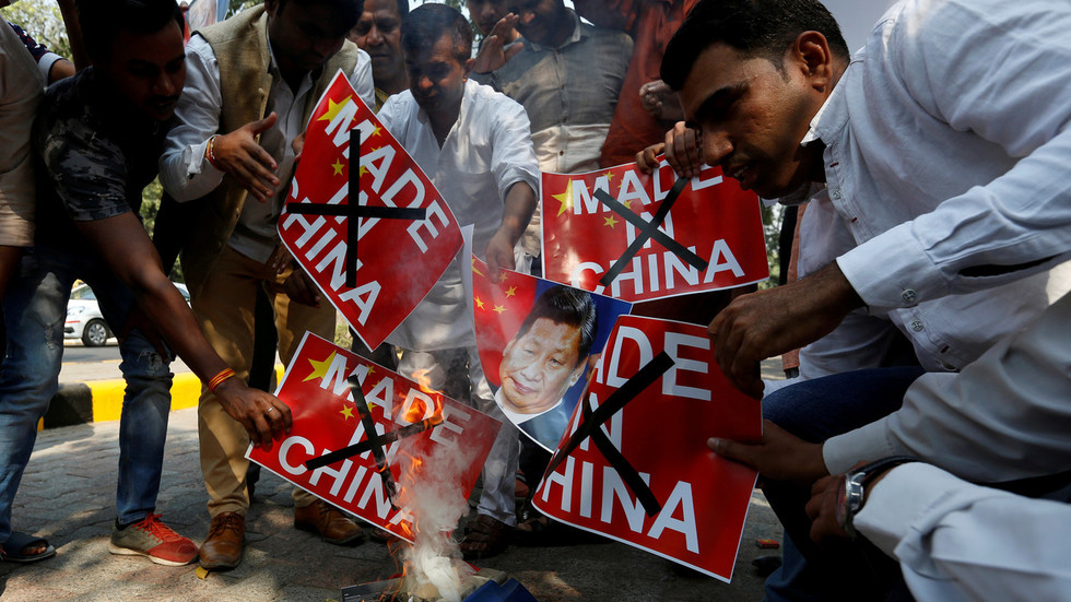 #BoycottChineseProducts trends on Indian social media after latest block by China