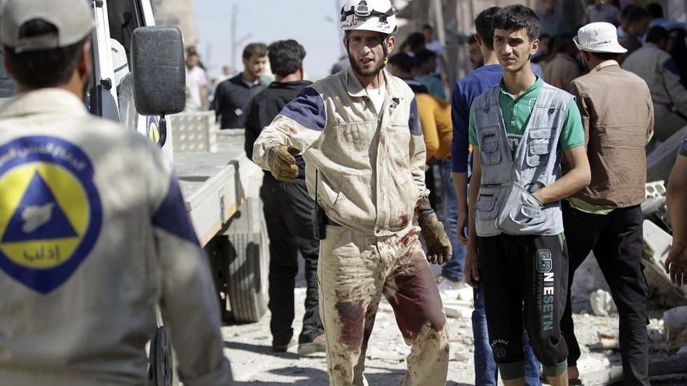US announces more support for 'heroic' White Helmets in Syria
