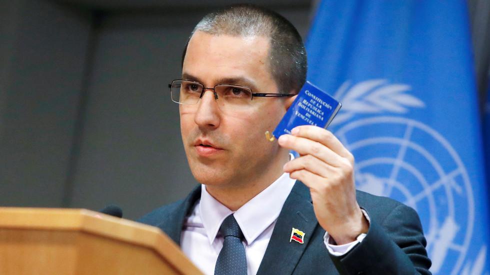 US & allied diplomats storm out as Venezuelan FM addresses UN drugs convention