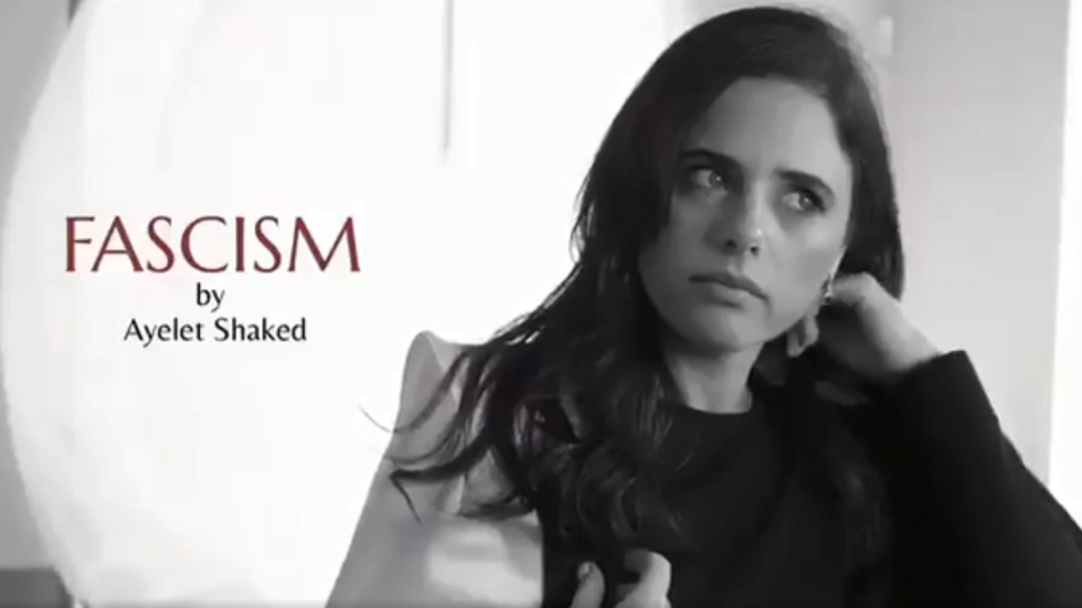 Israel's right-wing justice minister samples 'fascism' perfume in bizarre campaign ad
