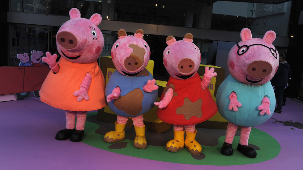 Not fireman, it's firefighter! Fire Brigade mocked after accusing Peppa Pig of 'sexism'