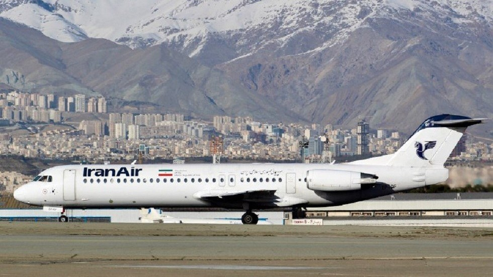 Airplane catches fire at Tehran's Mehrabad airport, all passengers evacuated safely