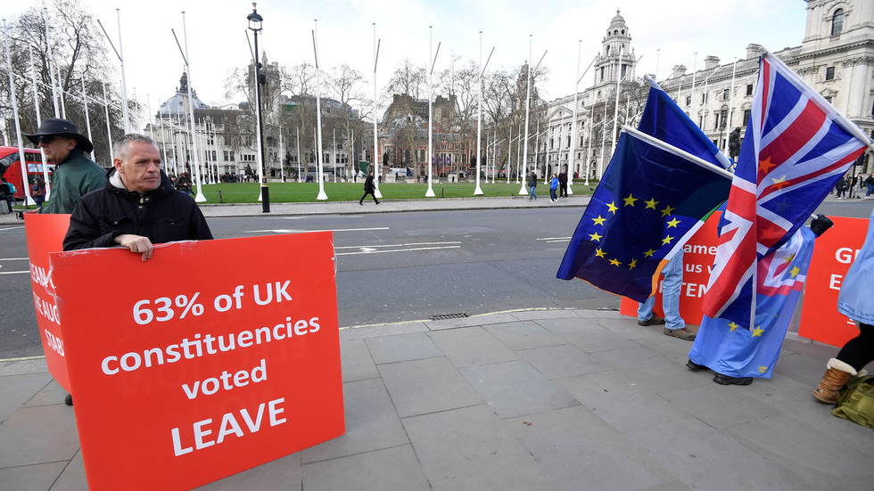 Recipe for civil war? 17.4 million voted for Brexit & are being denied it