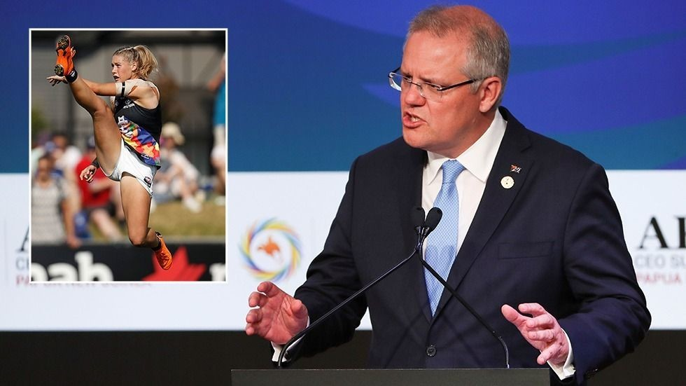 'Cowardly grubs': Aussie PM joins chorus of condemnation over Tayla Harris abuse