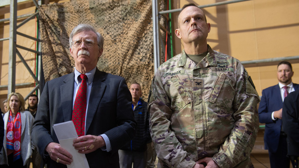 Bolton says Trump 'very serious' about 'all options' as Venezuela dismantles 'terrorist cell'