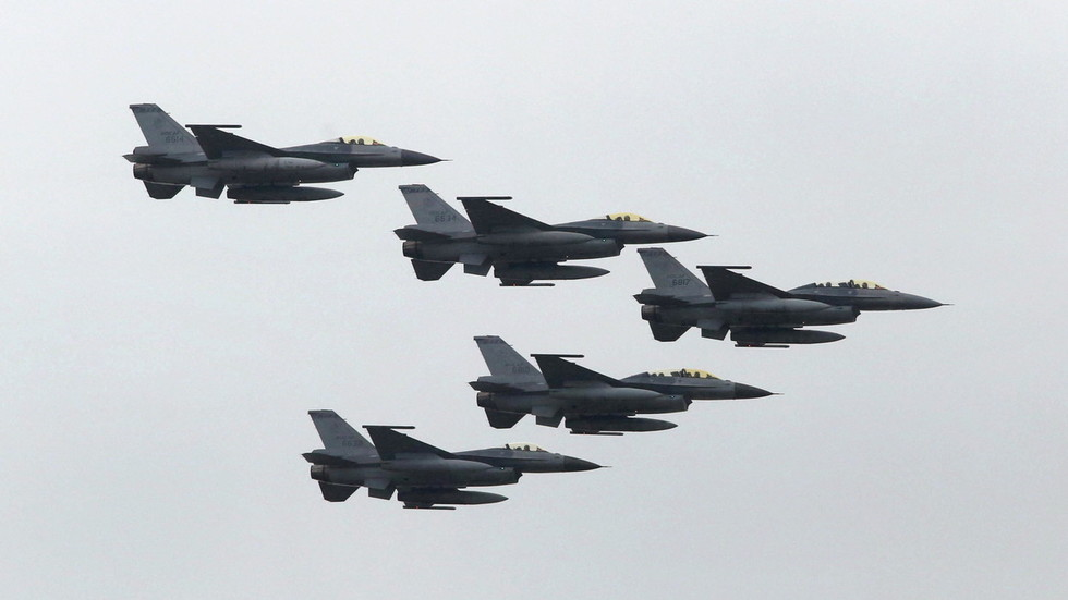 'Stop arms sales & military contact': Beijing warns US against selling F-16s to Taiwan