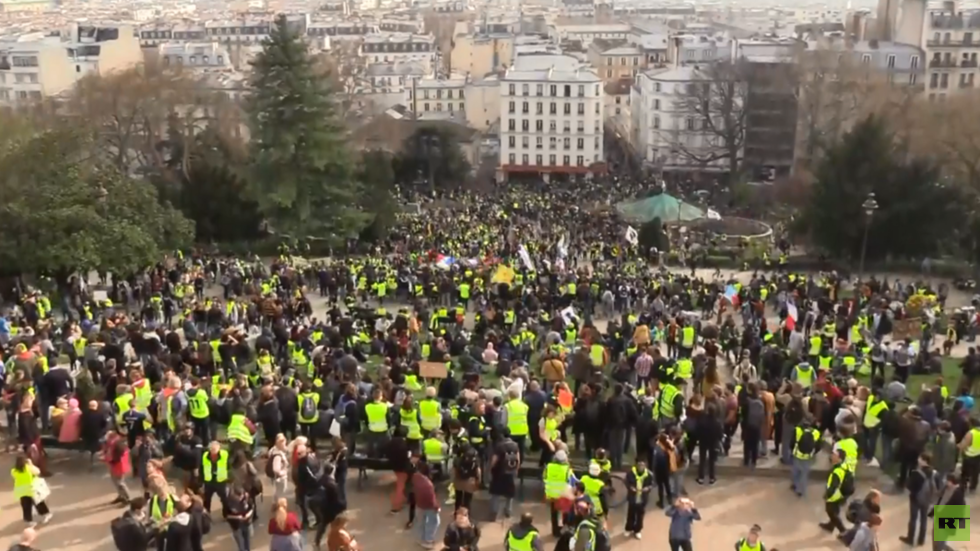Apart from Champs-Elysees: Yellow Vests hold protests across France despite place bans