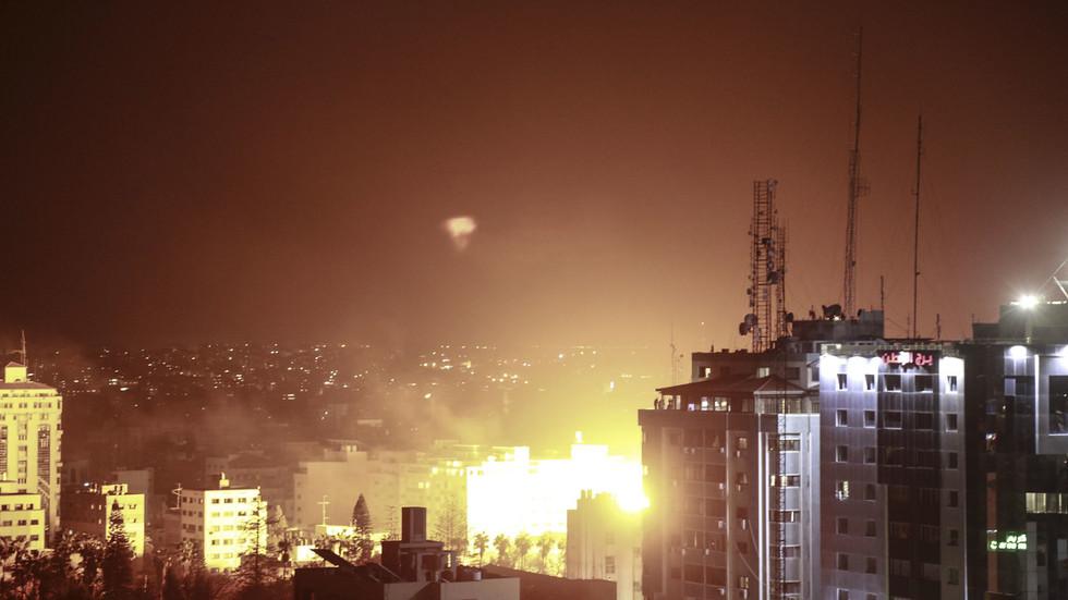 Netanyahu hints at new Gaza invasion amid night of cross-border fire