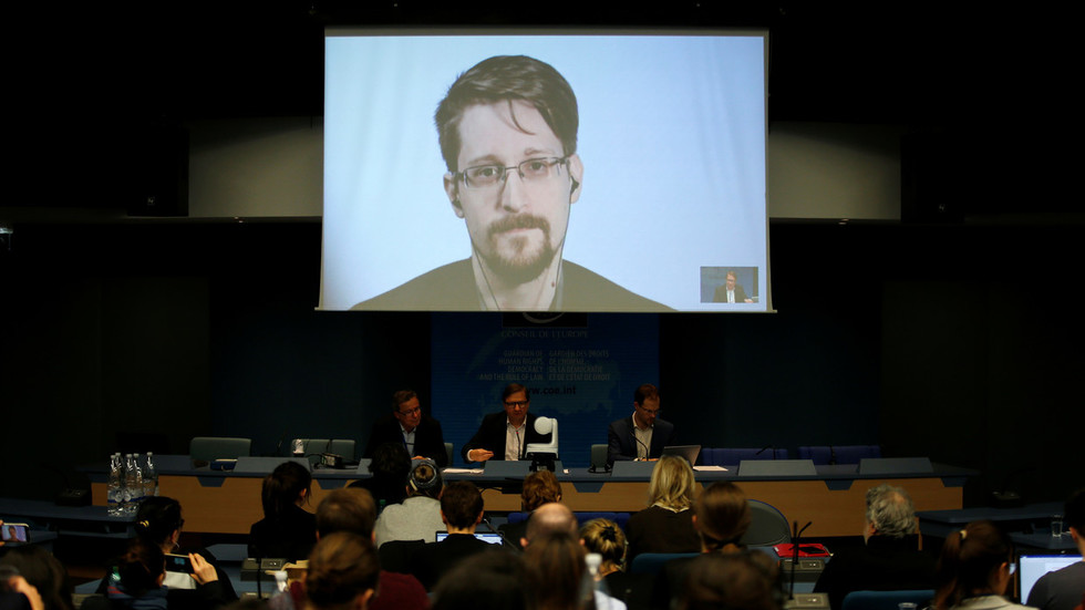 'Never forget what they did here': Snowden vents dismay at EU copyright reform