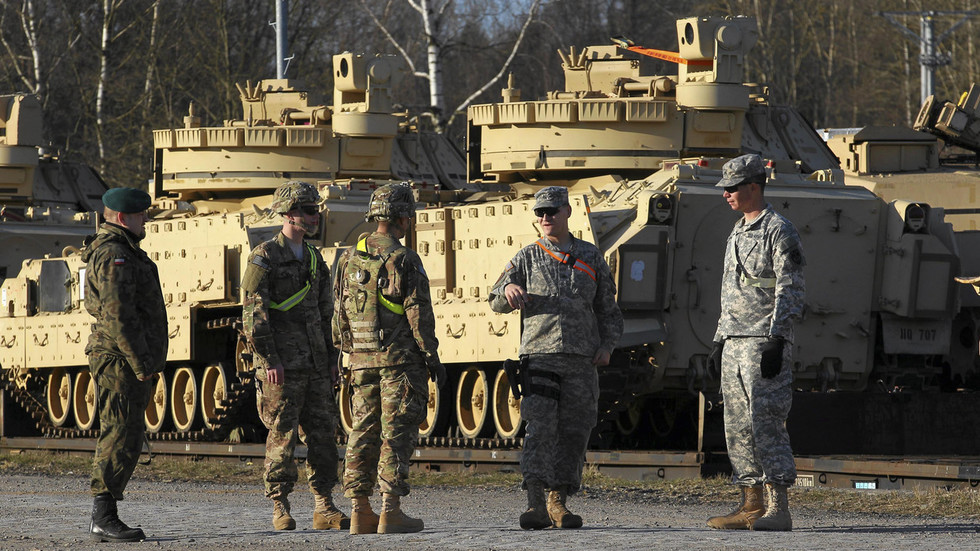 Bad habit: US soldiers injured AGAIN in Poland after military vehicles crash into each other (PHOTO)