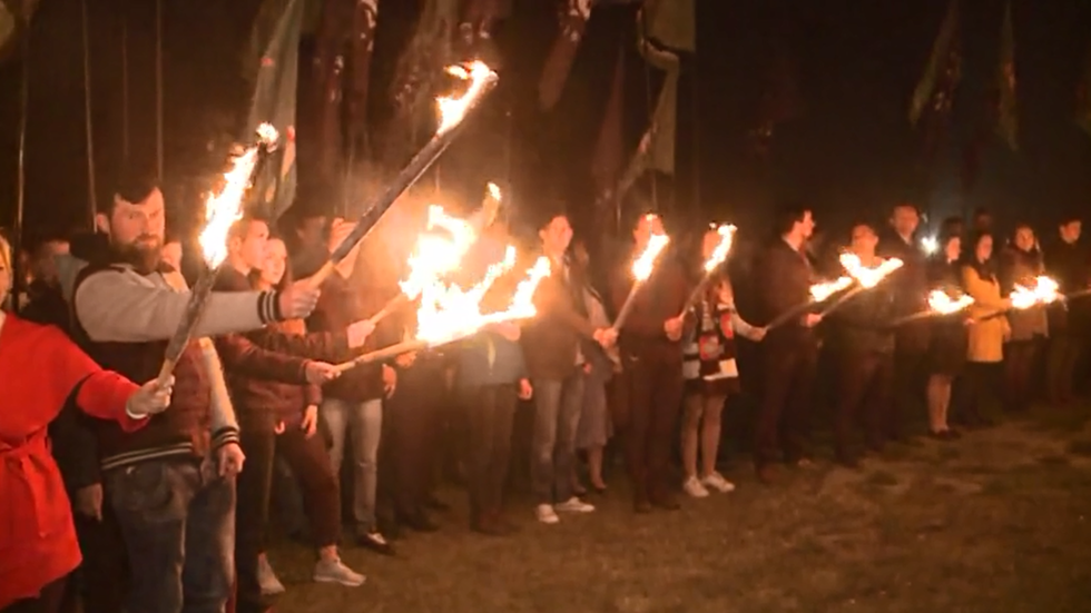 Poland's far-right holds torchlight procession, decries 'gender ideologies'