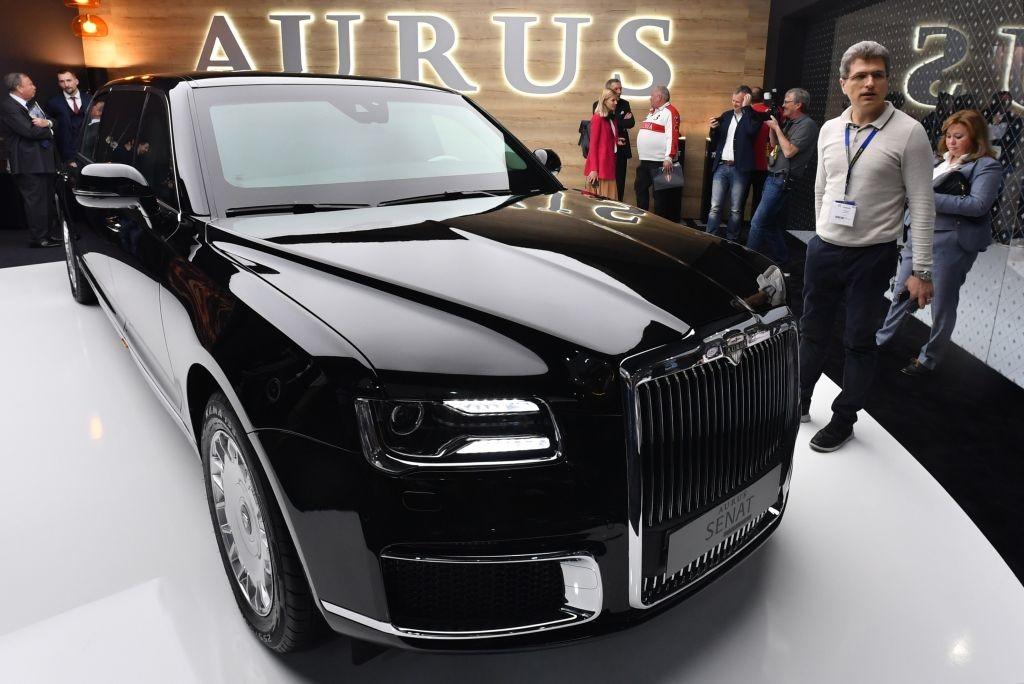 Aurus Senat Limousine Vladimir Putin President of Russia  1:43 DIP GON