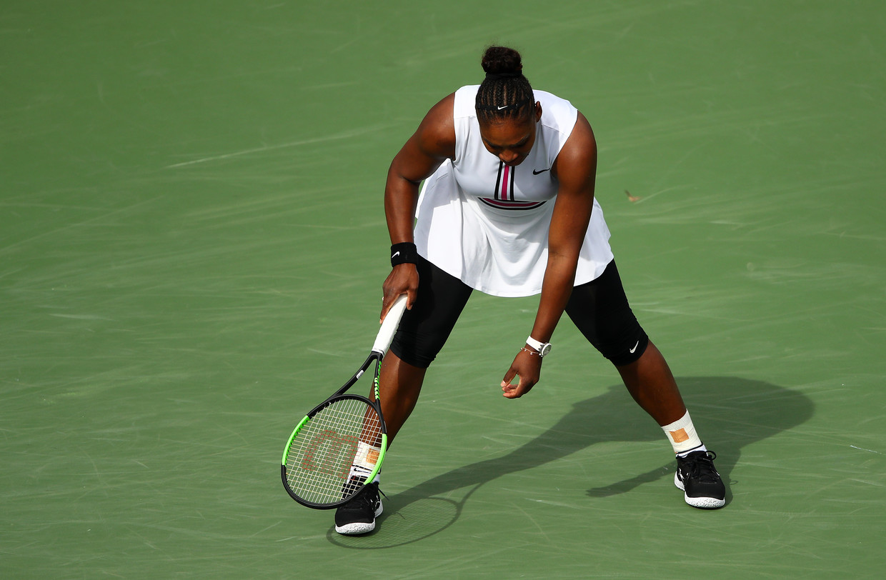 'I can't breathe': Serena Williams RETIRES from Indian Wells against Garbine Muguruza