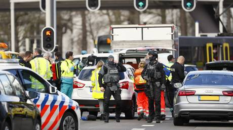 Tram shooting in Dutch city of Utrecht possibly kills one, several injured, attacker at large