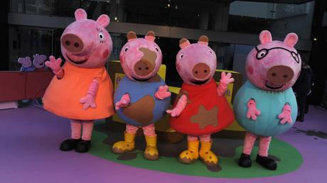 "UK Premiere of ''Peppa Pig: The Golden Boots,"" London © Global Look Press / Ferdaus Shamim"