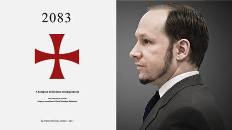 The cover of Breivik's manifesto / Andres Breivik © Global Look Press/ZUMAPRESS.com/Alexander Widding