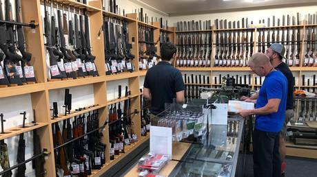 Gunshop in Christchurch, New Zealand © Reuters / Jorge Silva