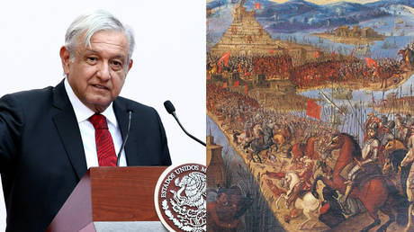 Mexican president demands apology from Spanish King, Pope Francis for 16th century conquests