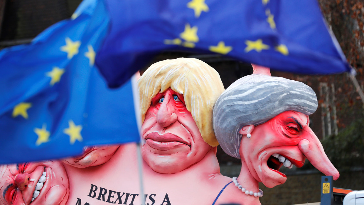 Image result for brexit lampooning