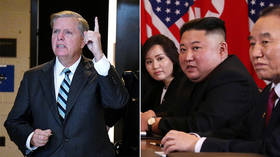 'Time to end the nuclear threat': Graham hints at war hours after Trump-Kim summit stalls