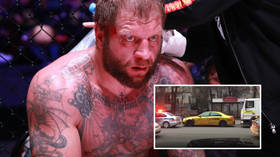 MMA fighter Emelianenko arrested for drunk driving after ramming his Mercedes into 2 cars (VIDEO)