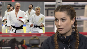 'I'd love to train with Putin & pose for Playboy... but no nudes!' Firuza Sharipova to RT (VIDEO)