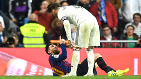 'The greatest c*** on this planet' Fans debate Ramos challenge on Messi in El Clasico