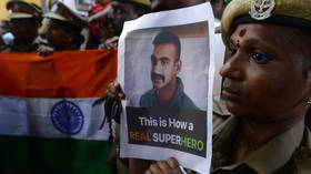 Downed Indian pilot is eager to be back in action – report