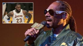 'Get a slave ship, get them motherf***ers out': Snoop Dogg in shocking rant at LA Lakers (EXPLICIT)