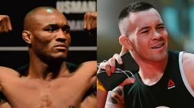 Casino showdown: UFC rivals Usman & Covington in Las Vegas scuffle (VIDEO)