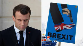 'Never has Europe been in such danger': Macron calls for new 'renaissance' as Brexit looms