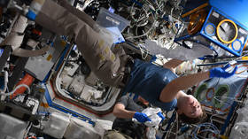 Female astronaut McClain gains 2 INCHES in height on board ISS in 3 MONTHS